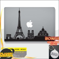 Promo Decal Macbook Sticker Laptop Paris