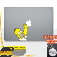 Promo Decal Macbook Sticker Laptop Simpson