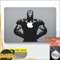 Promo Decal Macbook Sticker Laptop Ironman 1