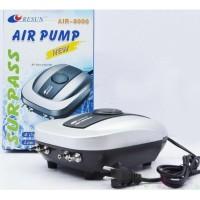 Air-8000 Resun Pompa Udara Aerator Aquarium Air Pump