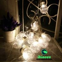 LAMPU LED HIASAN LAMPU HIAS TAMAN CAFE DEKORASI INDUSTRIAL VINTAGE
