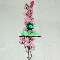 Bunga Sakura/Bunga Plastik/Dekorasi Rumah/Buket Bunga Varian Warna