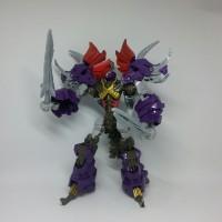 Mainan Robot Weijiang Transformers Dinosaurus bot- Triceratops