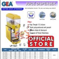 GEA LP 12X1 - JUICE DISPENSER 1 TABUNG - SISTEM ADUK (STEERING )