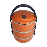Rantang 3 Susun Kotak Makan Stainless Steel - Lunch Box
