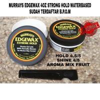 POMADE MURRAYS EDGEWAX BLACK 4oz free sisir
