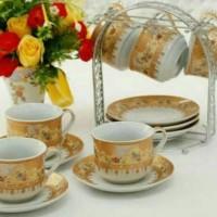 Ternama Cangkir Set Vizenza / Tea Set / Cup And Saucer Vicenza B671