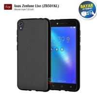 Darknight Asus Zenfone Live (5) / ZB501KL | Slim Case Black Matte