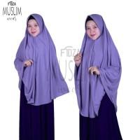 Khimar jumbo/Hijab syari pet antem/Jilbab syari kaos PE premium Uk XL