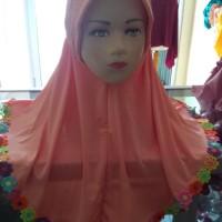 Best Sale Jilbab Anak Serut Jasmis Kerudung Anak 3-8 Th Hijab Khimar