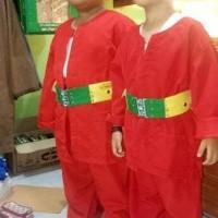 Best Sale Setelan Baju Pangsi Anak Sabuk Peci Selendang - Hijau