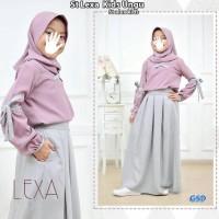 Best Sale Setelan Baju Muslim Anak Perempuan|St Lexa Kids - Ungu