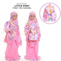 Best Sale Mukena Anak Little Ponny Size S Usia 3 - 4 Tahun / Mukenah