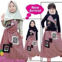 Best Sale Baju Muslim Katun Anak Perempuan / Rok Muslim Anak Perempuan