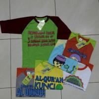 Best Sale Kaos Muslim Anak 5-6Th Berkualitas,.-