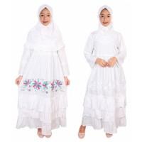 Best Sale Fayrany Fgp-008 Size 1 - 6 Baju Muslim Anak Gamis - Putih -