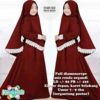 Best Sale Fashion Anak Gamis Rabiya Syarii Kids Pakaian Muslim Gamis