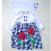 Best Sale Baju Muslim Anak/ Baju Perempuan Gamis/Kaos Putih Kotak