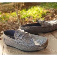 Sepatu Slip On Loafers Pria Casual Formal Pantofel Trendy - 2