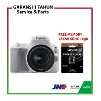 Canon DSLR EOS 200D 200 D Kit 18-55 IS STM White FREE Memory Lexar