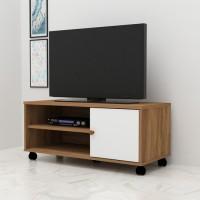 Anya-Living VR-7549 Rak TV Meja - TeakOak-white