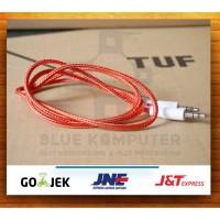 Kabel aux 1x1 Tali sepatu / Jack 3.5MM audio 1 in 1 / Cabel / Cable