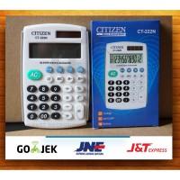 Kalkulator Citizen CT222N / Calculator Alat Penghitung Angka