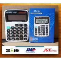 Kalkulator Citizen CT212J / Calculator Alat Penghitung Angka