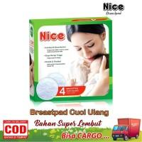 Nice Breastpad Kain Cuci Ulang Washable Breast Pad Penyerap ASI