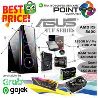 PC Rakitan AMD Ryzen 5 3600 I SSD 240GB I DDR 16GB I GTX 1660 6GB