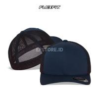Topi Polos Jaring/Trucker Mesh Baseball Flexfit Yupoong 6511 Original
