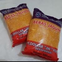 Beras Jagung Dollar Super Premium - Packing Tambahan Bubble & Kardus