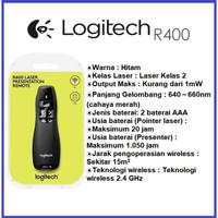 Laser Pointer LOGITECH R400 - Logitech Presenter , Wireless Presente