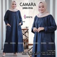 Gamis Besar Wanita Muslim Katun Impor Ld 140 MANTAP - CAMARA Super