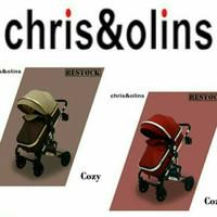 Stroller Chris & Olins COZY - Cokelat