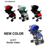 Stroller Kereta Bayi Chris&Olins A817 Vadso NEW