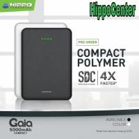 POWER BANK HIPPO GAIA COMPACT 5000 mAh GARANSI RESMI HIPPO