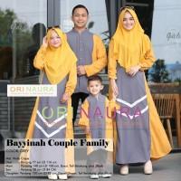Couple Family Baju Muslim Seragam Keluarga BAYYINAH Ori NR