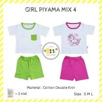 dapat 2 stell!! piyama anak babyberry mix 4 (girl) - Anak S
