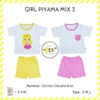 dapat 2 stell!! piyama anak babyberry mix 3 (girl) - Anak S