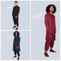 Baju Koko Pria Kurta Stelan Baju Muslim Qurta Eref Pride Bahan Premium