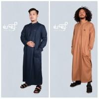 Baju Muslim Gamis Pria Eref Pride High Quality Bahan Premium