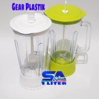 Gelas Blender SET MIYAKO BARU-Pisau BL 101-102-301-152 GEAR PLASTIK