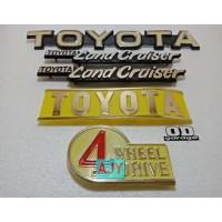 Emblem Lengkap Set Toyota Hardtop 2F Land Cruiser FJ BJ