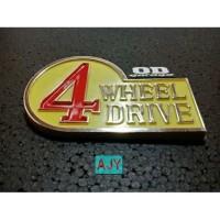 Emblem 4 Wheel Drive Rear Badge 4WD Toyota Hardtop 2F Land Cruiser FJ
