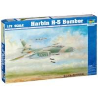 Model Kit Trumpeter Pesawat Bomber H-5 Harbin IL-28 Beagle Skala 72