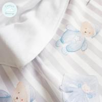 Selimut bayi / selimut anak desain custom 1.5 x 1.5m