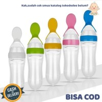 Sendok Botol Makan Bayi Baby Feeder Bottle Soft Squeeze BPA Free