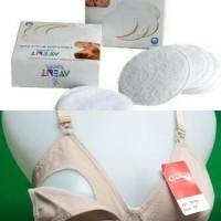 Paket setelah ibu melahirkan breast pads avent isi 6/BH MENYUSUI SOREX