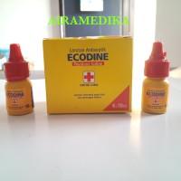 Ecodine Povidone Iodine 10 ml sama seperti Betadine